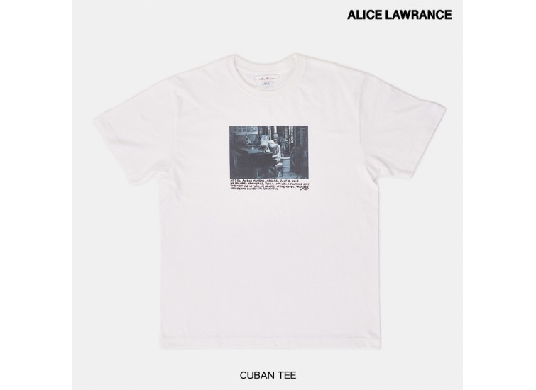 ALICE LAWRANCE CAPSULE TEE COLLECTION - CUBAN TEE