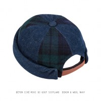BETON CIRE - MIKI BI-GOUT - SCOTLAND DENIM & WOOL NAVY