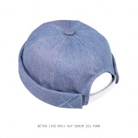 BETON CIRE - MIKI HAT - DENIM SEA PUNK