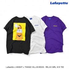 Lafayette x HAIGHT x THIAGO VILLAS BOAS - RELAX GIRL S/S TEE LE190103