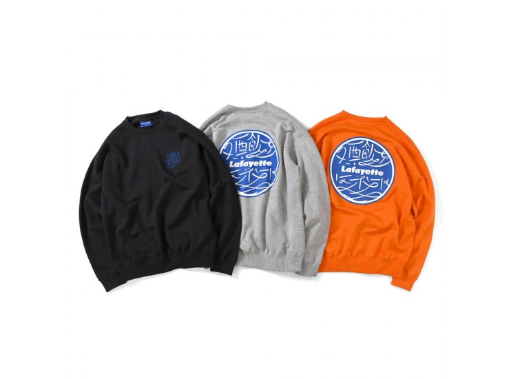 Lafayette x Club SakeNomitai 酒飲俱樂部 - 酒飲倶楽部 SAKE NOMI CLUB LOGO Crewneck Sweat shirt LE200701