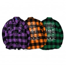 Lafayette x Club SakeNomitai 酒飲俱樂部 - さけのみたい SAKE NOMITAI Plaid Flannel Shirt LE200201