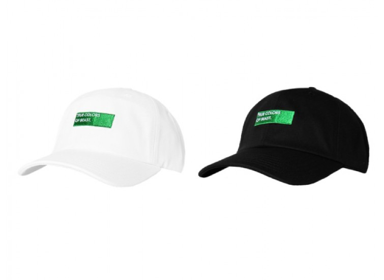LESS - TRUE COLORS OF BEAST BALL CAP (WHITE, BLACK)