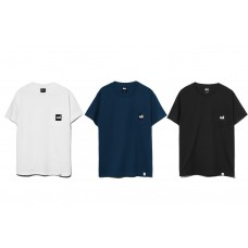 LESS - REVERSE SQUARE LOGO POCKET TEE