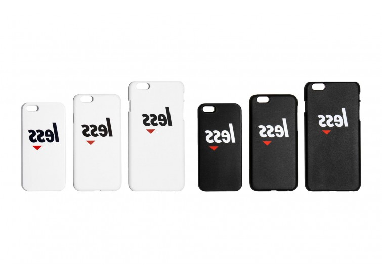 LESS - REVERSE SQUARE LOGO IPHONE CASE