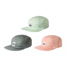 LESS - SQUARE LOGO CAMP CAP (MINT, SLATE, PEACH)
