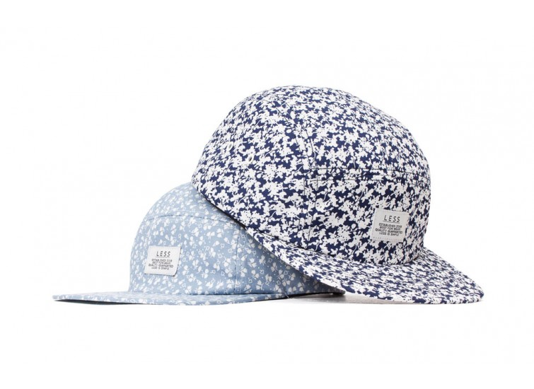 LESS - SIMPLE LOGO CAMP CAP (Floral Pattern)