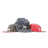 LESS - SIMPLE LOGO CAMP CAP (Paisley Pattern)