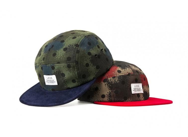 LESS - SIMPLE LOGO CAMP CAP (Spray Camouflage)