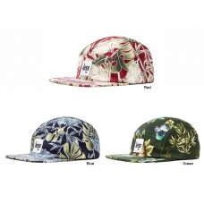 LESS - SQUARE LOGO CAMP CAP (Flower Pattern)