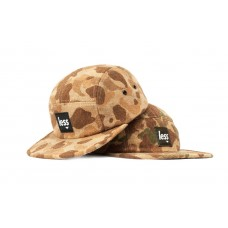 LESS - SQUARE LOGO CAMP CAP (Camouflage Wool Pattern)