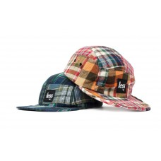 LESS - SQUARE LOGO CAMP CAP (Patchwork Plaid)