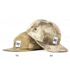 LESS - SQUARE LOGO CAMP CAP (Camouflage-A-TACS)