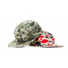 LESS - SQUARE LOGO CAMP CAP (Duck Camouflage)