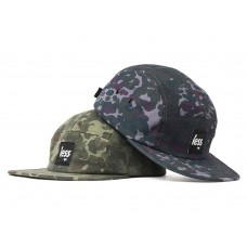 LESS - SQUARE LOGO CAMP CAP (Camouflage)