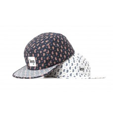 LESS - SQUARE LOGO CAMP CAP (Paisley Pattern)