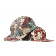 LESS - SLIDE LOGO CAMP CAP (Flower Pattern)
