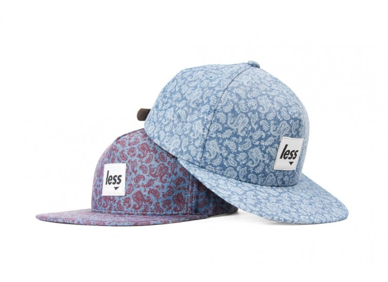 LESS - SQUARE LOGO WORK HAT (Paisley Pattern)