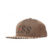 LESS - ARCH LOGO SNAPBACK (Leopard/Brown)