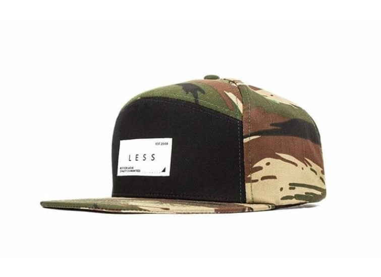 LESS - REGULAR LOGO 7 PANEL (Tiger Stripe)