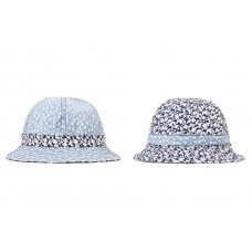 LESS - FLORAL PATTERN MILITARY HAT