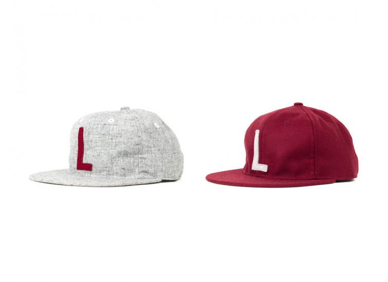 "LESS x Ebbets Field Flannels - ""L"" LOGO CAP"