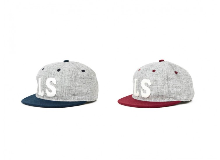 LESS x Ebbets Field Flannels - LS LOGO CAP