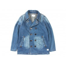 LESS - DENIM P-COAT