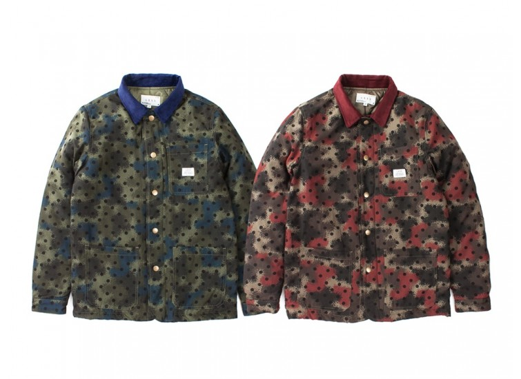 LESS - SPRAY CAMOUFLAGE COAT