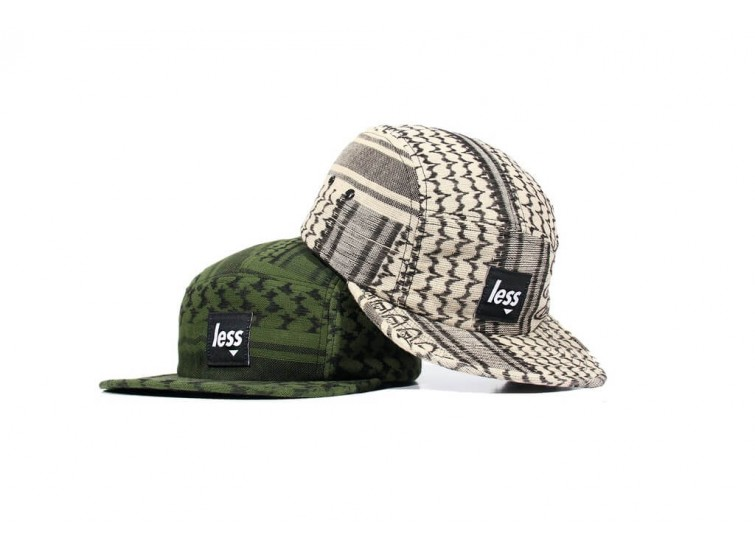 LESS - SQUARE LOGO CAMP CAP (Shemagh Pattern)