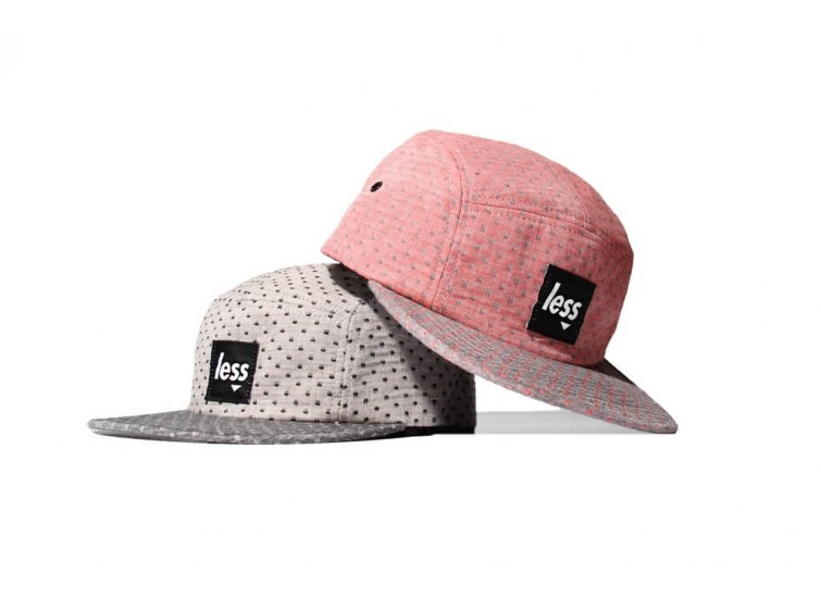 LESS - SQUARE LOGO CAMP CAP (Dot)