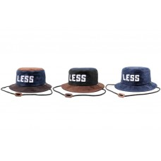 LESS - SPORT LOGO BUCKET HAT