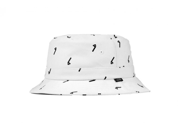 LESS - ALL OVER L PATTERN BUCKET HAT