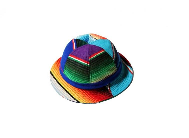 LESS - RAINBOW STRIPE MILITARY HAT