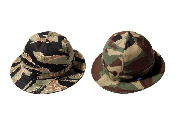 LESS - CAMOUFLAGE MILITARY HAT