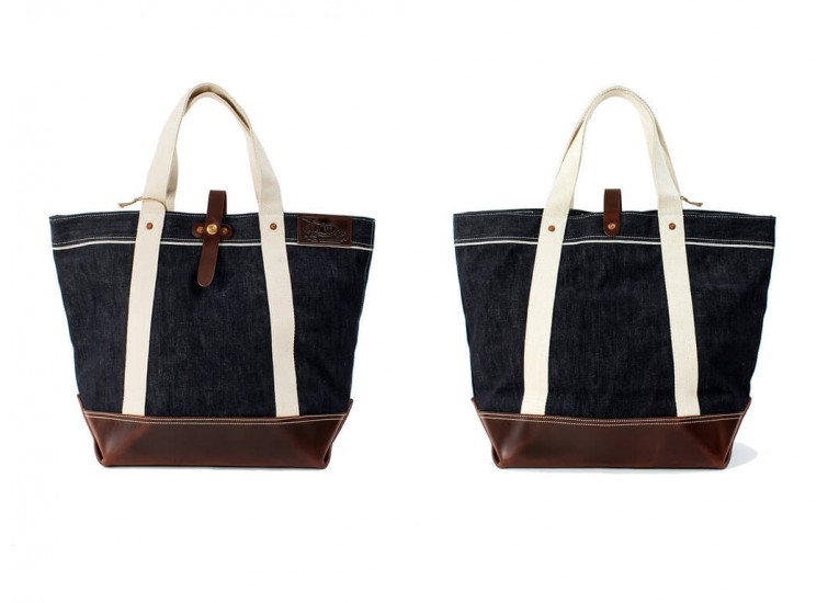 LESS x La Rocca - DENIM SELVAGE TOTE BAG