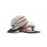 LESS - SQUARE LOGO CAMP CAP (Rainbow)