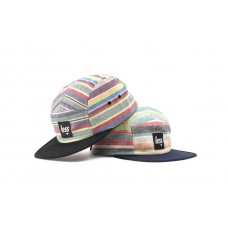 LESS - SQUARE LOGO CAMP CAP (Rainbow)