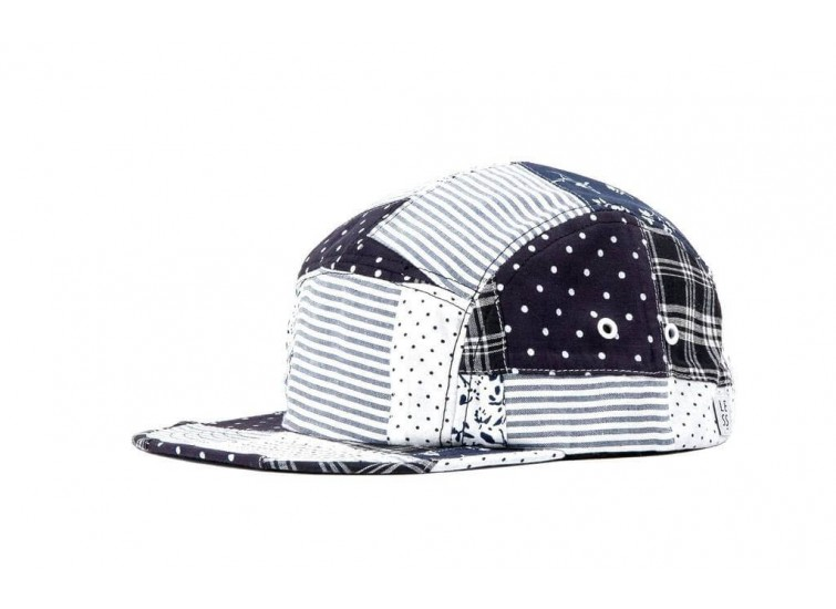 LESS - SLIDE LOGO CAMP CAP (Patchwork)