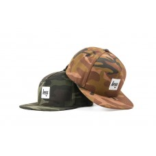 LESS - SQUARE LOGO WORK HAT (US Woodland Camouflage)