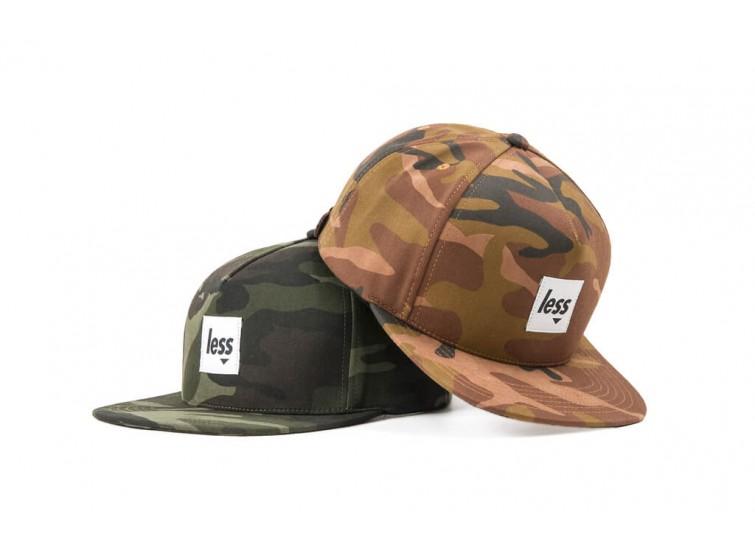 LESS - SQUARE LOGO WORK HAT (US Woodland Camouflage)