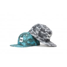 LESS - SQUARE LOGO POLO HAT (Chambray Camo)