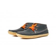 LESS x VERAS - GRANADA (Navy/Leather)