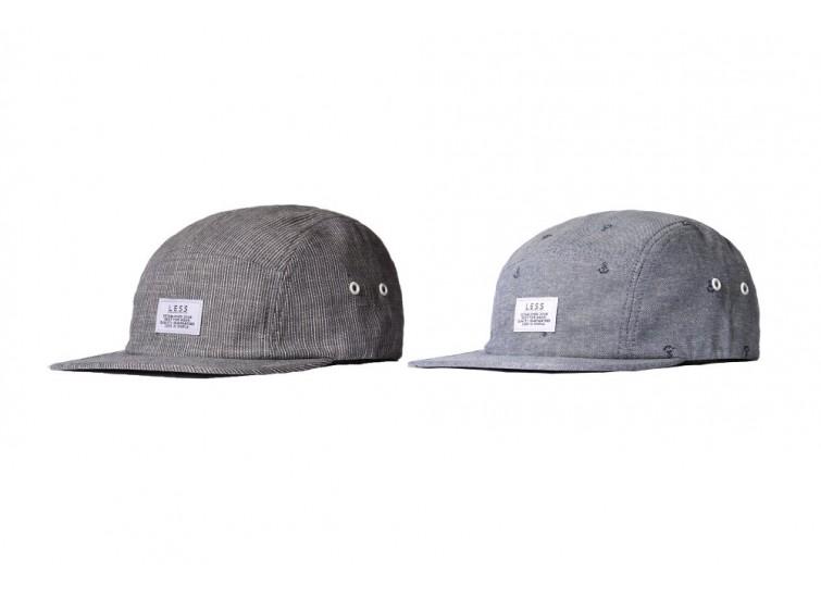 LESS - SIMPLE LOGO CAMP CAP (STRIPE)