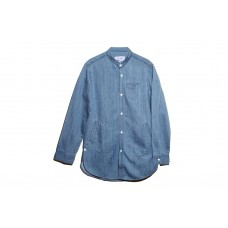 LESS - WASHED DENIM LONG SHIRT