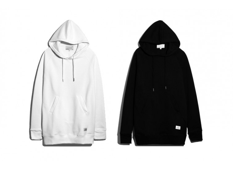 LESS - LONG SWEAT HOODIE