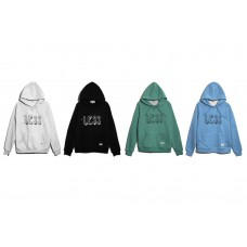 LESS - DRAWING PULLOVER HOODIE