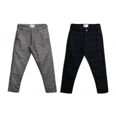 LESS - CHECK CROPPED PANT(MADE IN JAPAN)
