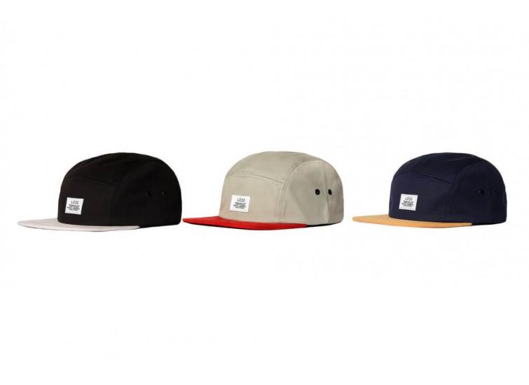 LESS - SIMPLE LOGO CAMP CAP (TWO TONE)