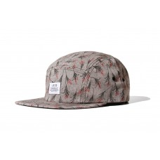 LESS - SIMPLE LOGO CAMP CAP (FLORAL - GREY)